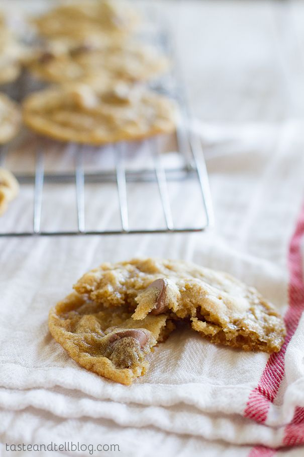 chocolate chip crushed corflake cookies even though these cookies are ...