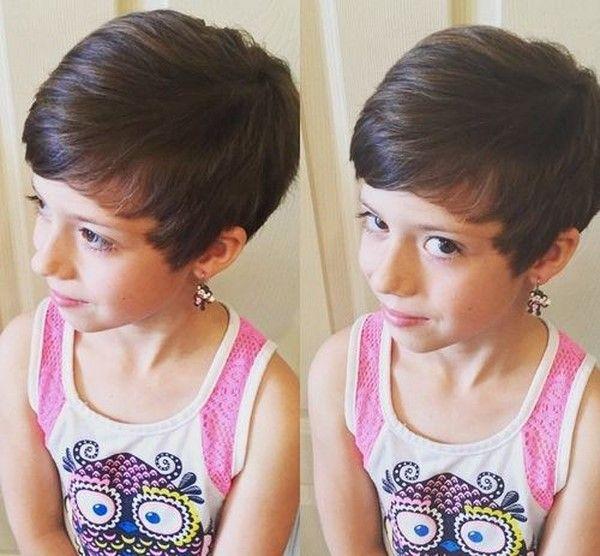 Короткие причёски для девочек