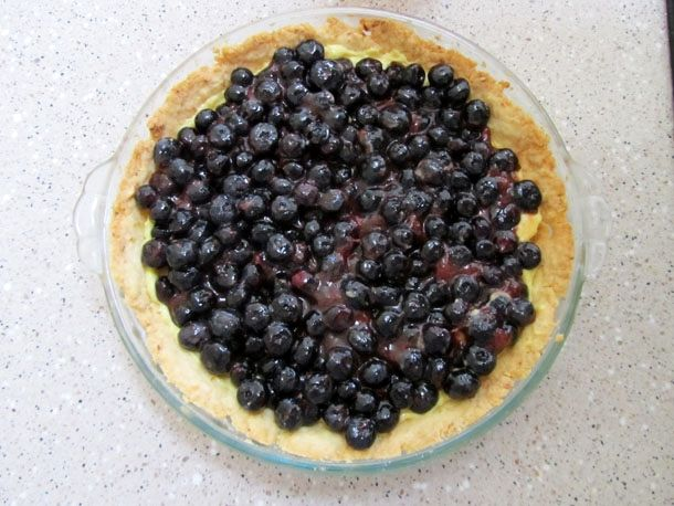 Blueberry Meyer Lemon Cream Pie | Desserts and Other Sweets | Pintere ...
