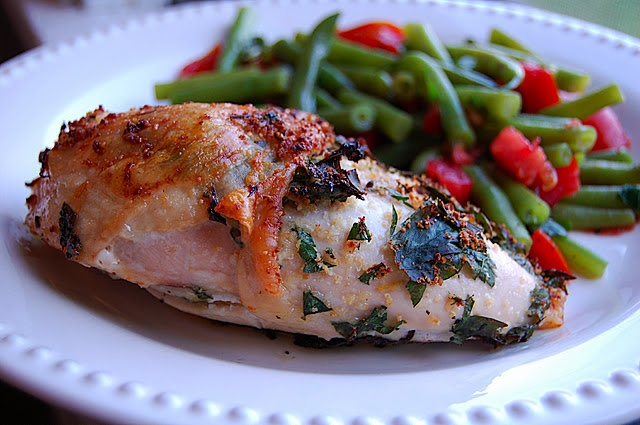 Parmesan-Stuffed Chicken Breasts | Recipes I Gotta Try | Pinterest