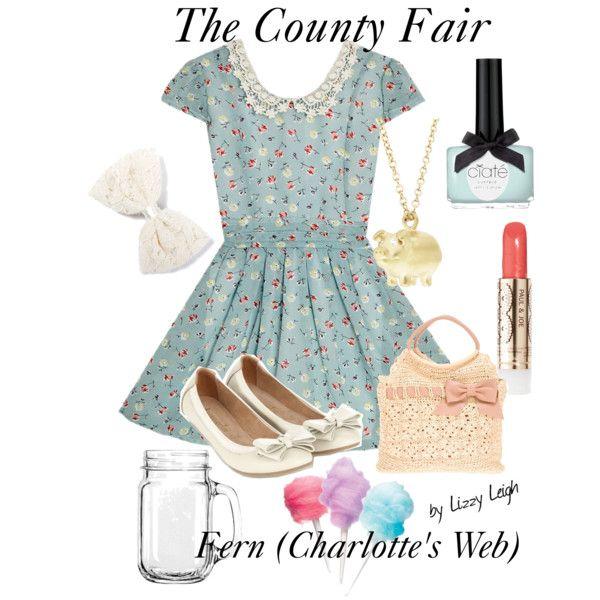 Fern charlotte s web county fair my polyvore creations disney an