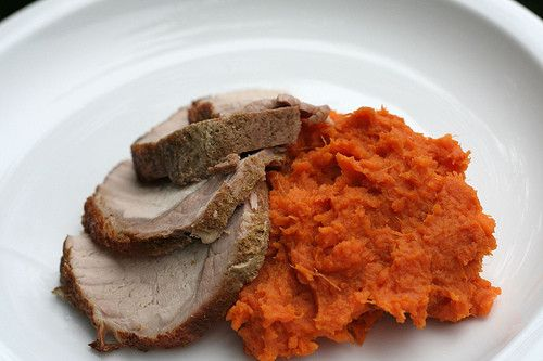 Thanksgiving dishes ideas: Mashed sweet potatoes with maple syrup