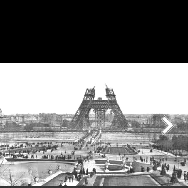 Eiffel Tower Being Built L 39 Tour Eiffel Eiffel Tower