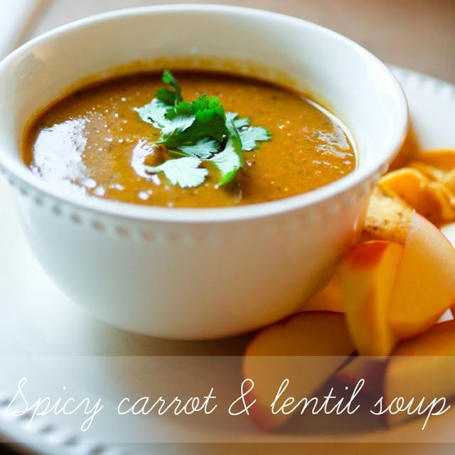 Spicy Carrot & Lentil Soup | Allergy-Friendly Feasts | Pinterest