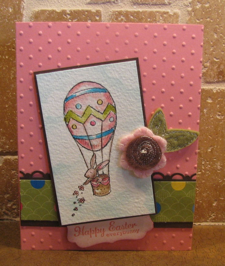 Easter card | My Stampin' Up cards/crafts | Pinterest