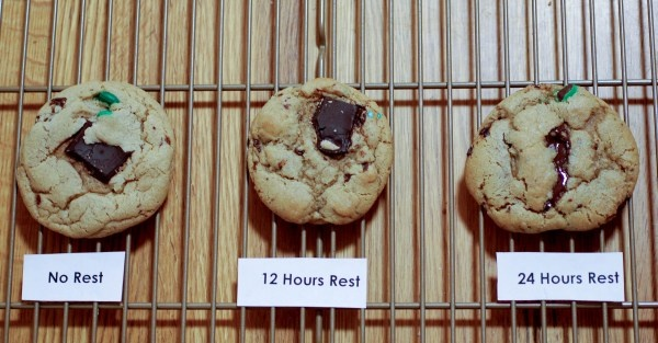 48 hour chocolate chip cookie experiment | Food | Pinterest