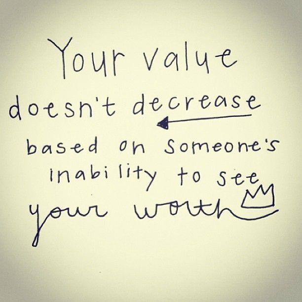 Amen your value is unmeasurable! #fabfitfun #value #worth #wisdom #truth #selflove #strength #heart #Padgram