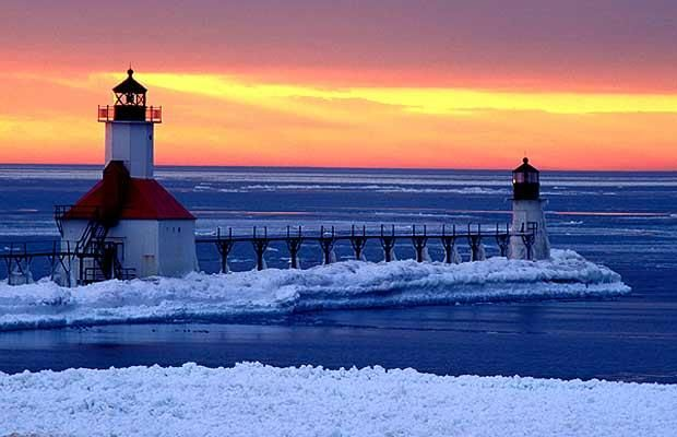 The lighthouses of Michigan - Telegraph
