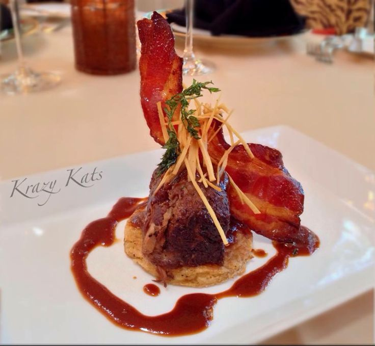 Stout Braised Short Rib ~ candied bacon, chipotle potato cake, smoked ...