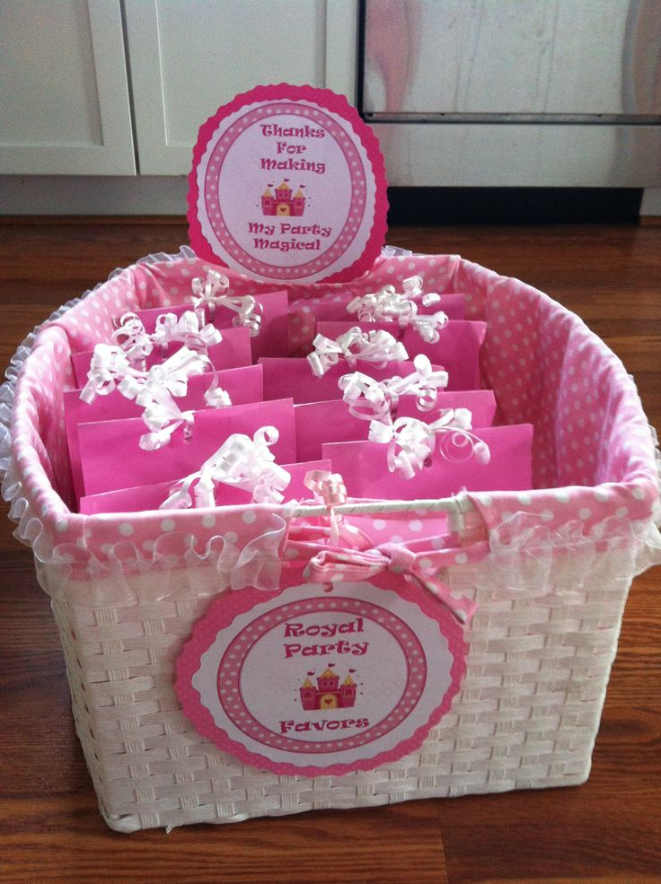 princess favors princess birthday party pinterest