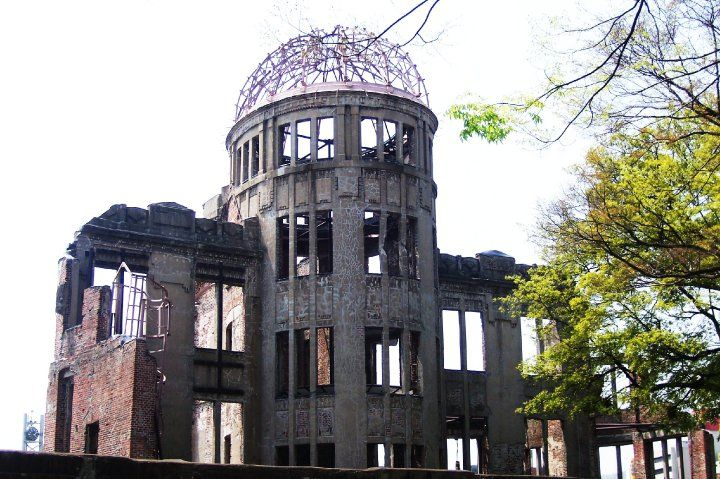 Atomic Bomb Dome, Hiroshima  Japanese Historical Sites  Pinterest