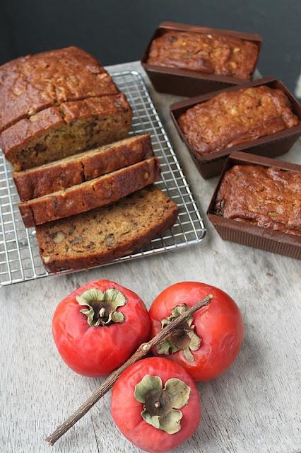 Persimmon Bread With Bourbon, Dates, And Walnuts Recipes — Dishmaps