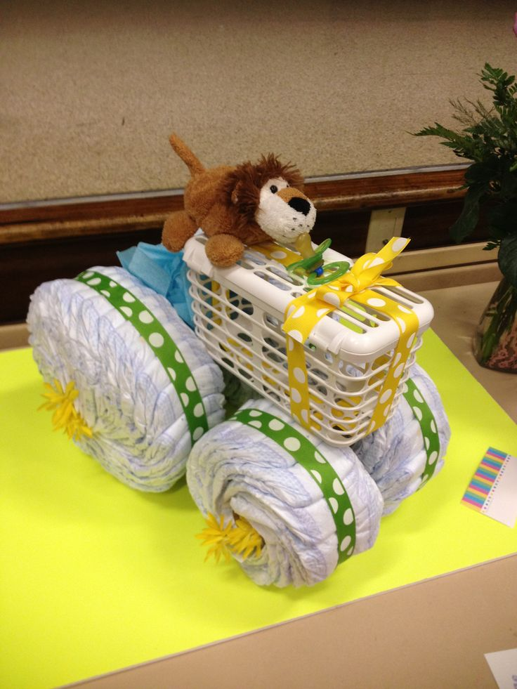 Tractor Diaper Cake Ideas And Designs