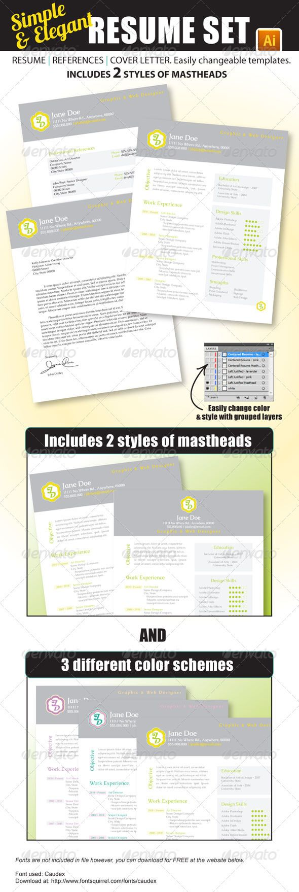 Best Resume Color Scheme