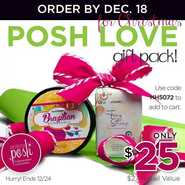 Contact your independent perfectly posh consultant for details
