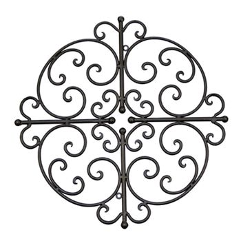 Outdoor wrought iron wall art decor ideas pinterest