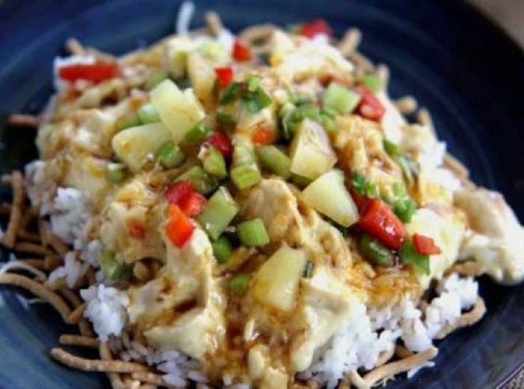 Hawaiian Haystacks | Foods & Recipes | Pinterest