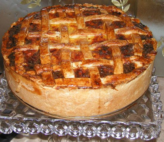 Pizza rustica.... I think Rosie should make this for her favorite ...