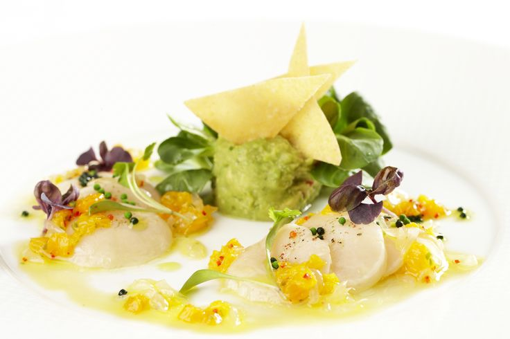 Ceviche of scallops | Summer food | Pinterest
