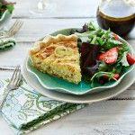 Quiche Lorraine Recipe | Leeks, Bacon, and Gruyere Quiche | Good Life ...