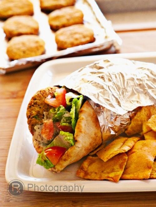 Baked Falafel | Wholesome Meals | Pinterest