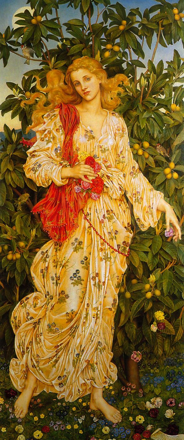 Evelyn De Morgan: Flora (1880)