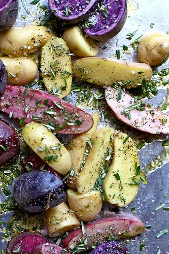 Rosemary Roasted Potatoes | Side Dishes | Pinterest