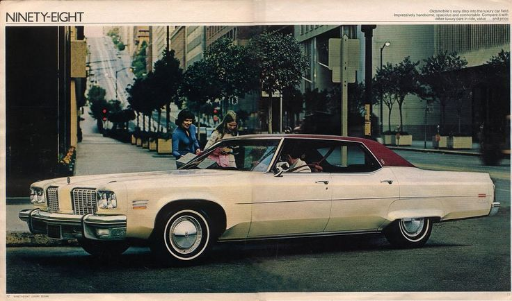 1974 Oldsmobile 98 Luxury Sedan
