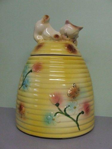 Mccoy bear and bee hive cookie jar images frompo - Beehive cookie jar ...