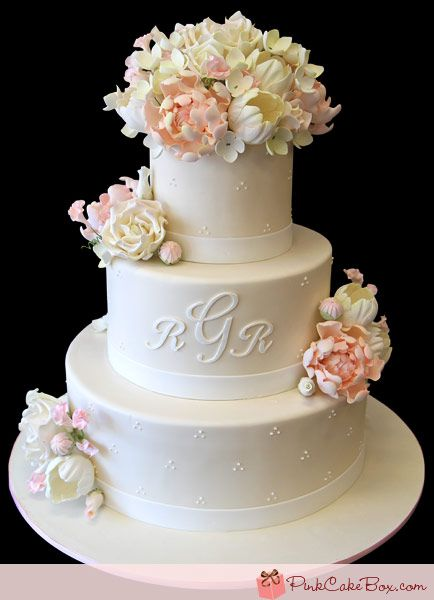 Sugar Flowers For Wedding Cakes For Sale