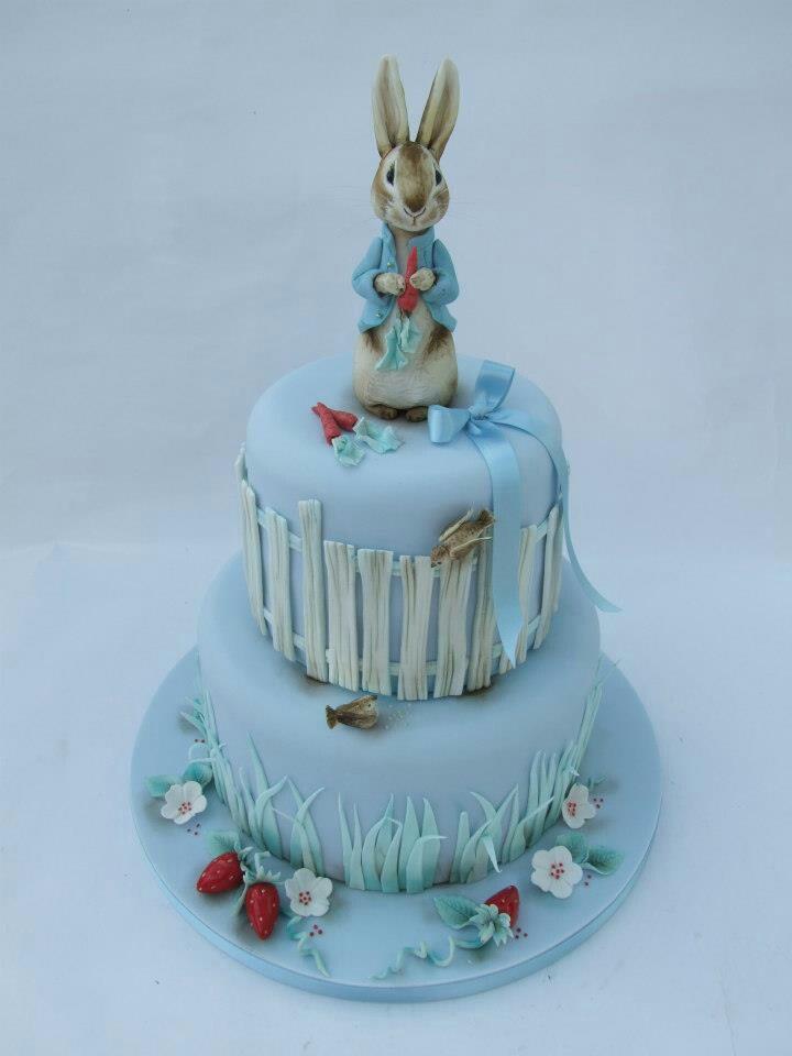 Peter rabbit cake Cakes Pinterest
