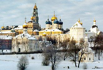 Sergiev Posad, Russia. One of my more adventurous trips.