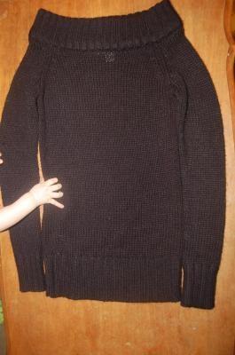 womens black sweater