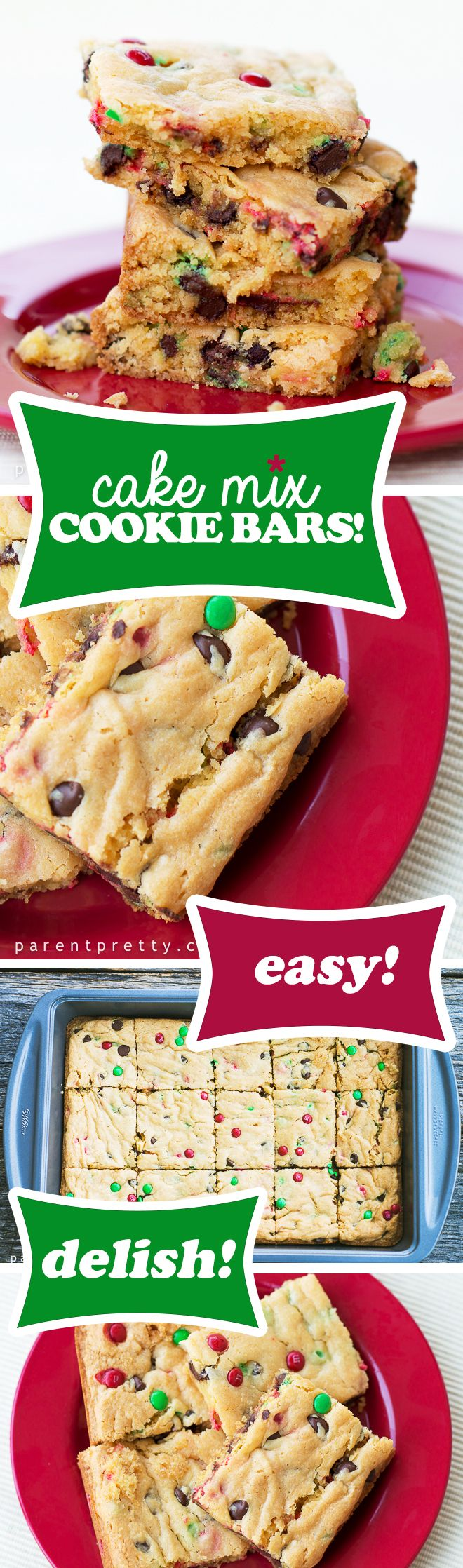 Bar Cookies From Cake Mix Recipe — Dishmaps