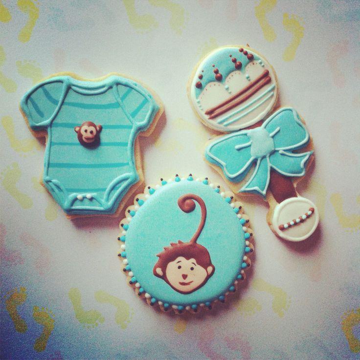 baby shower sugar cookies for a boy sugar cookies pinterest