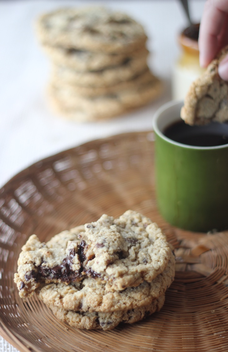 Dark Chocolate and Toasted Pecan Cookies w/Browned Butter (gluten-free ...