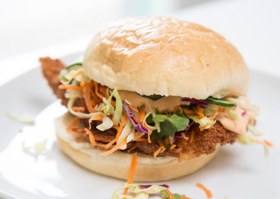 Asian Chicken Sandwiches | Eat: Sandwiches - On a Bun | Pinterest