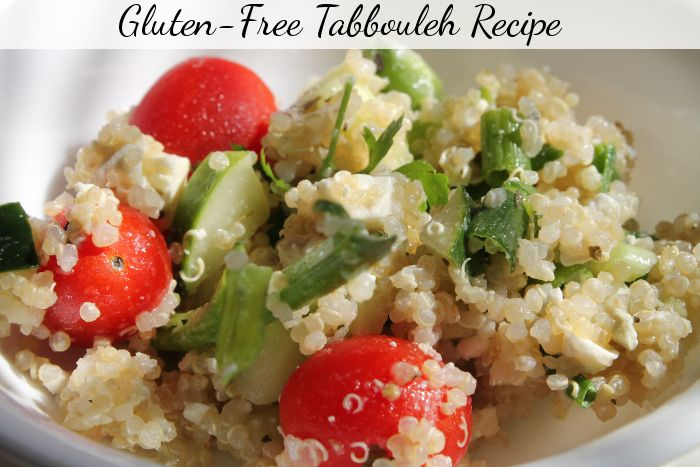 Gluten-Free Tabbouleh recipe - easy and delicious make-ahead meal!
