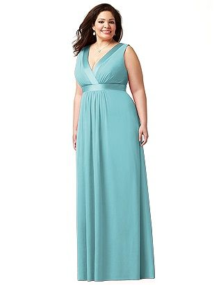 Plus size wedding ceremony dresses
