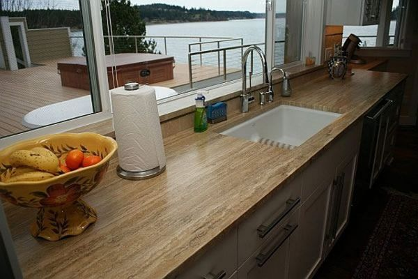 Choices for Kitchen Countertop Designs  Kitchen Fab  Pinterest