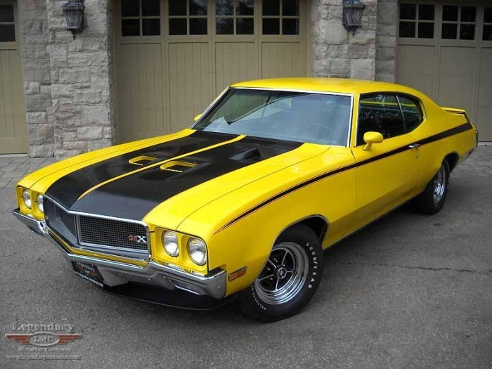 Buick GSX... Just like my Skylark, only a little more power and money, of course.