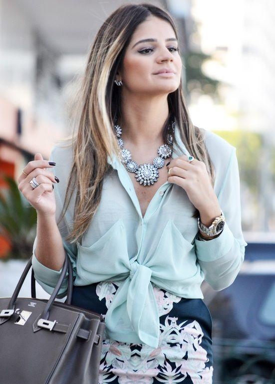 Moda 2013: Camisas femininas