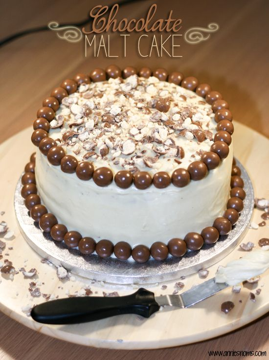 Chocolate Malt Cake | Annie's Noms | In my next life, I will be a bak ...