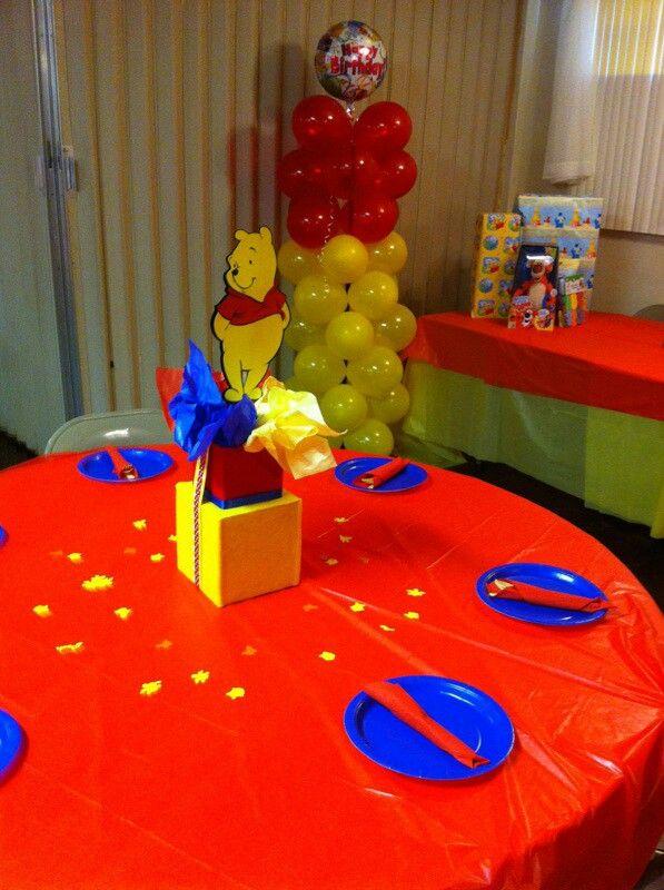Winnie the Pooh 1st Birthday party  Birthday: Winnie the Pooh ...