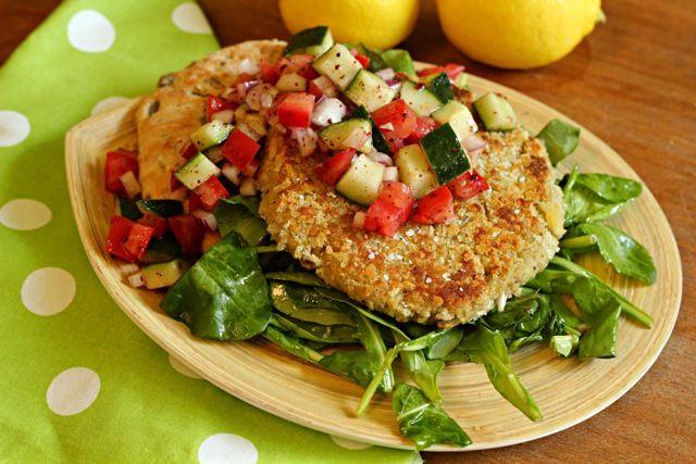 Falafel Burgers | Recipe