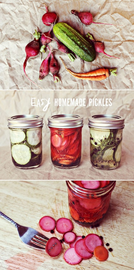 Easy Homemade Pickles #recipe #canning, @Elyse Exposito Woodbury ...