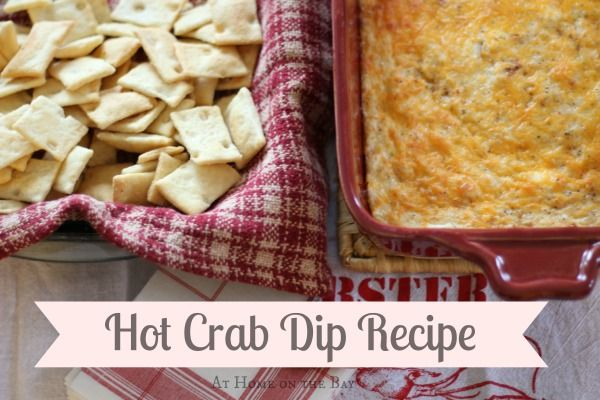 Hot Crab Dip Recipe- I'd sub out the mayonnaise for sour cream and add ...