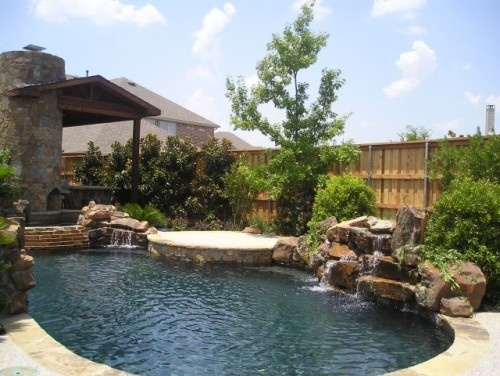 Nice Pool Backyards : Nice pool area  Porches and Backyards  Pinterest