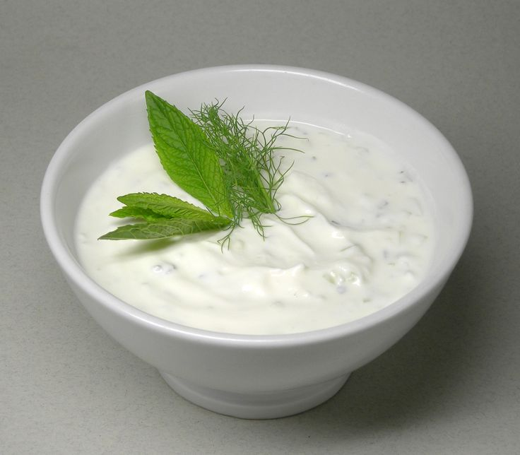 Tarator- cold cucumber-yogurt soup usually made with minced garlic and ...