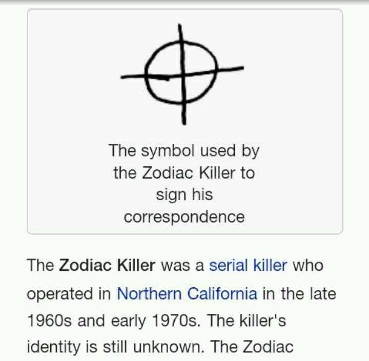 zodiac killer matrix Matrix lawsuit legend seven in his new book the zodiac killer cover up, lyndon lafferty claims that the zodiac i know what most people think of.